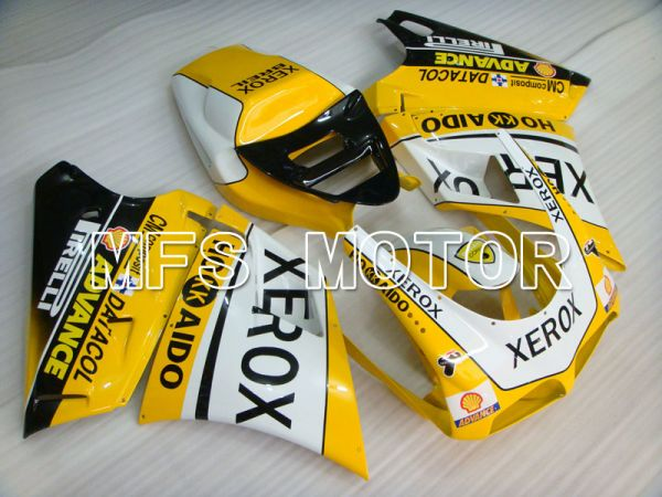 Ducati 916 1994-1998 Injection ABS Fairing - Xerox - Yellow White - MFS4057