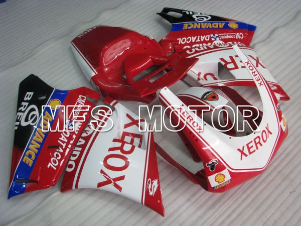 Ducati 916 1994-1998 Injection ABS Fairing - Xerox - Red White - MFS4063
