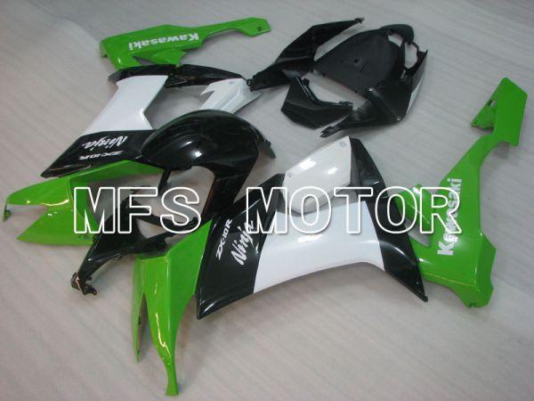 Kawasaki NINJA ZX10R 2008-2010 Injection ABS Fairing - Factory Style - Black Green White - MFS4071