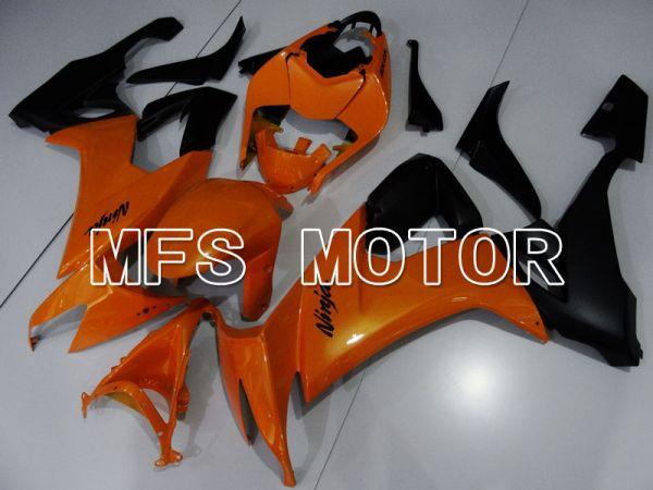 Kawasaki NINJA ZX10R 2008-2010 Injection ABS Fairing - Factory Style - Black Orange - MFS4074