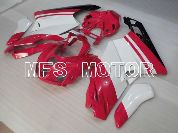 Ducati 749 / 999 2005-2006 Injection ABS Fairing - Factory Style - Red White - MFS4076