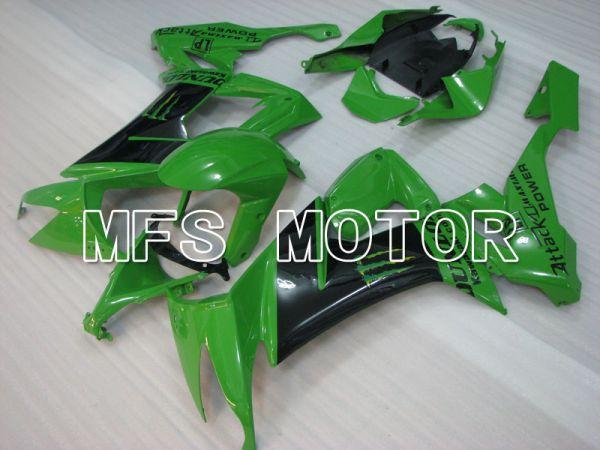 Kawasaki NINJA ZX10R 2008-2010 Injection ABS Fairing - Monster - Black Green - MFS4078