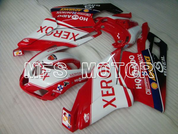 Ducati 749 / 999 2005-2006 Injection ABS Fairing - Xerox - Red White - MFS4081