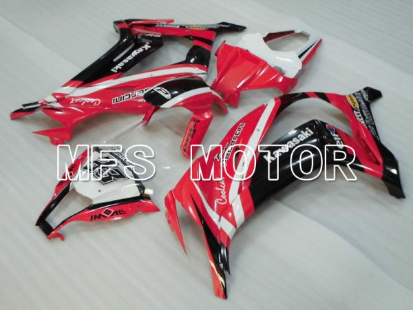 Kawasaki NINJA ZX10R 2011-2015 Injection ABS Fairing - Others - Black Red - MFS4089