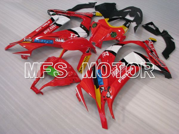 Kawasaki NINJA ZX10R 2011-2015 Injection ABS Fairing - Others - Red - MFS4090