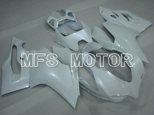 Ducati 1199 2011-2014 Injection ABS Fairing - Factory Style - White - MFS4091