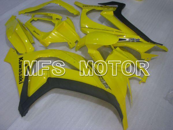 Kawasaki NINJA ZX10R 2011-2015 Injection ABS Fairing - Others - Black Yellow - MFS4093