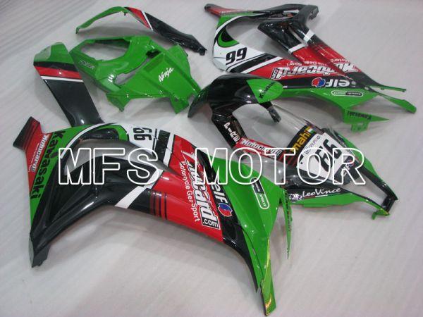 Kawasaki NINJA ZX10R 2011-2015 Injection ABS Fairing - Others - Black Green - MFS4095