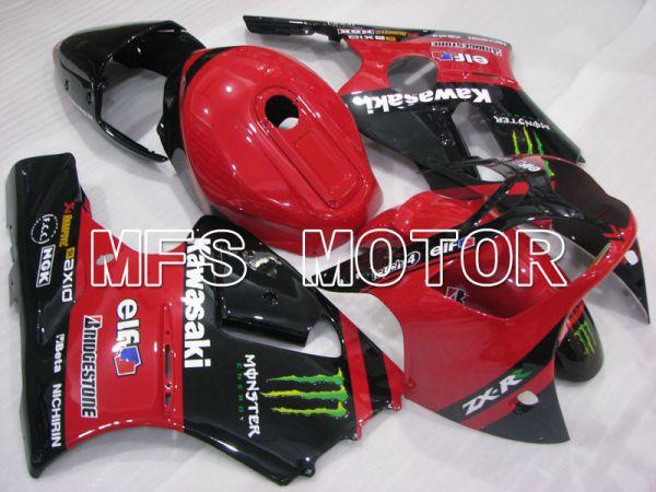 Kawasaki NINJA ZX12R 2000-2001 Injection ABS Fairing - Monster - Black Red - MFS4104