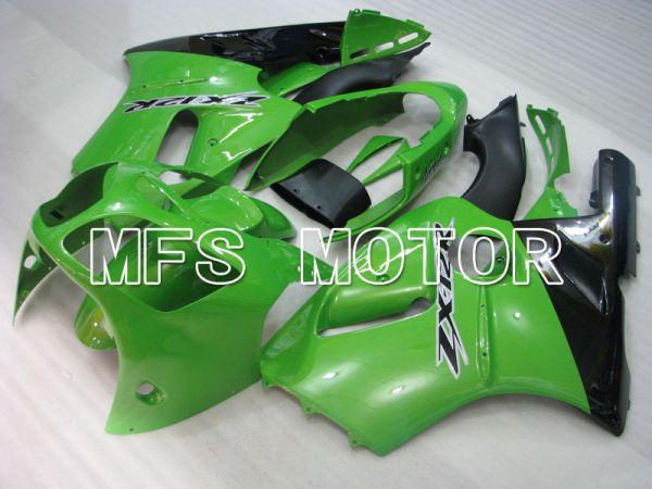 Kawasaki NINJA ZX12R 2000-2001 Injection ABS Fairing - Factory Style - Black Green - MFS4110