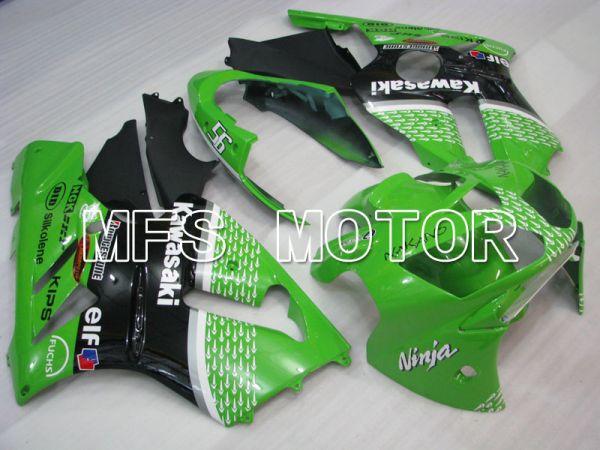 Kawasaki NINJA ZX12R 2002-2005 Injection ABS Fairing - Factory Style - Black Green - MFS4112