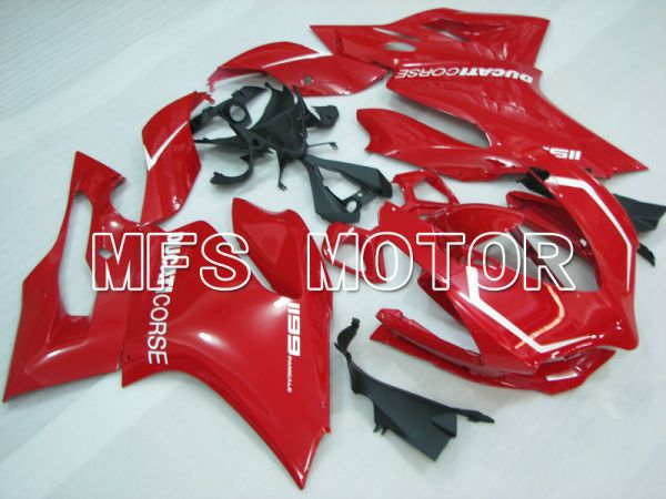 Ducati 1199 2011-2014 Injection ABS Fairing - Factory Style - Red - MFS4114