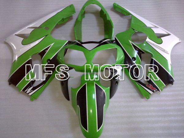 Kawasaki NINJA ZX12R 2002-2005 Injection ABS Fairing - Factory Style - Black Green White - MFS4131