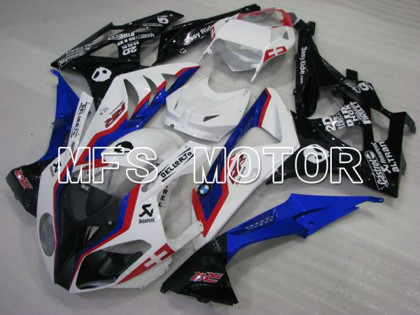 BMW S1000RR 2009-2014 Injection ABS Fairing - Factory Style - Black White Blue - MFS4160