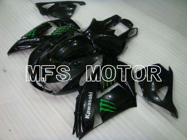 Kawasaki NINJA ZX14R 2006-2011 Injection ABS Fairing - Monster - Black - MFS4169