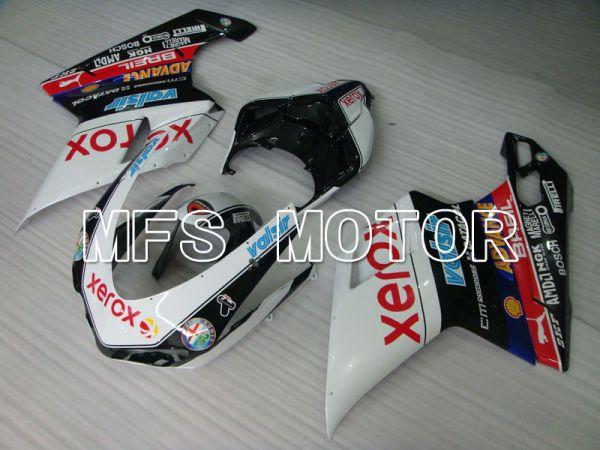 Ducati 848 / 1098 / 1198 2007-2011 Injection ABS Fairing - Xerox - Black White - MFS4171