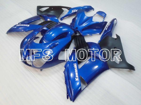 Kawasaki NINJA ZX14R 2006-2011 Injection ABS Fairing - Factory Style - Black Blue - MFS4172