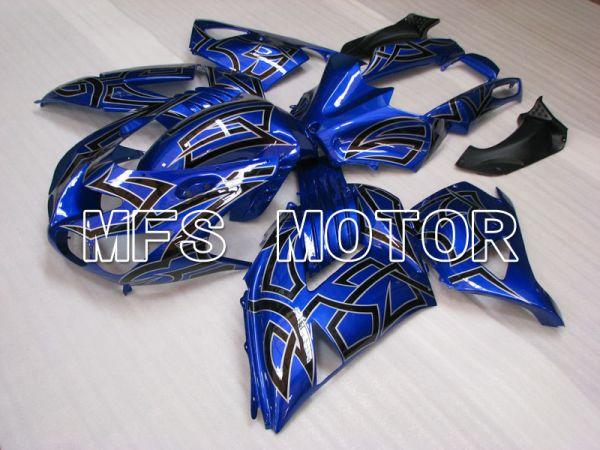 Kawasaki NINJA ZX14R 2006-2011 Injection ABS Fairing - Others - Black Blue - MFS4176