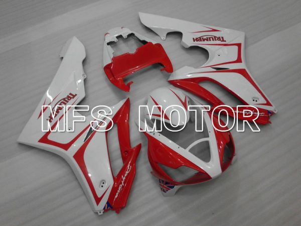 Triumph Daytona 675 2006-2008 Injection ABS Fairing - Factory Style - Red White - MFS4179