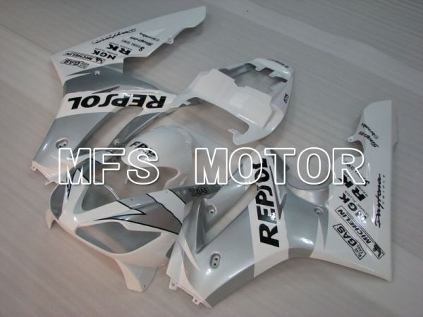 Triumph Daytona 675 2006-2008 Injection ABS Fairing - Repsol - Gray White - MFS4186