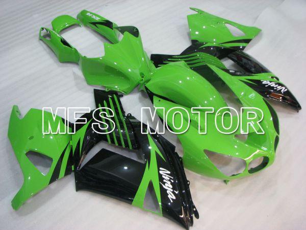Kawasaki NINJA ZX14R 2006-2011 Injection ABS Fairing - Factory Style - Black Green - MFS4189