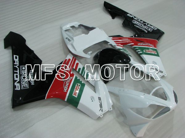 Triumph Daytona 675 2006-2008 Injection ABS Fairing - Castrol - Red White Green - MFS4201