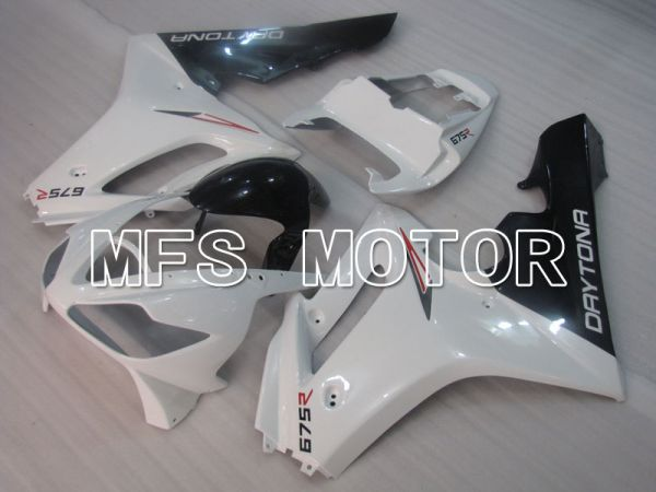 Triumph Daytona 675 2006-2008 Injection ABS Fairing - Factory Style - White - MFS4205