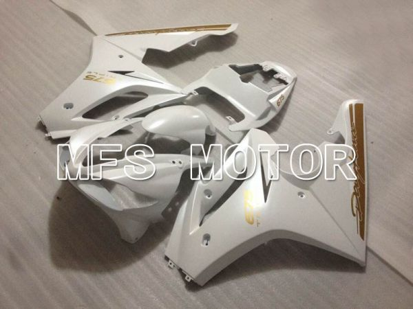 Triumph Daytona 675 2009-2012  Injection ABS Fairing - Factory Style - White - MFS4221