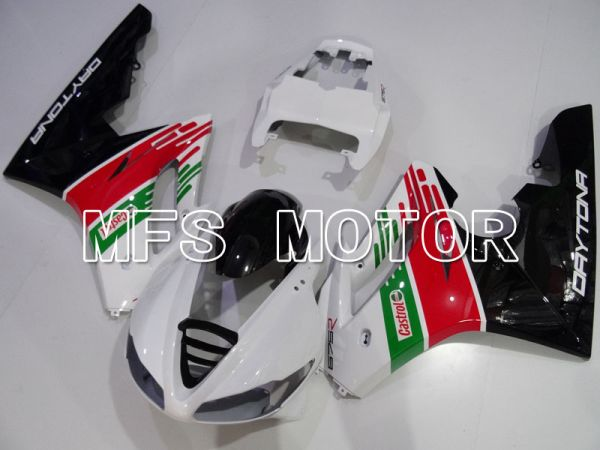 Triumph Daytona 675 2009-2012  Injection ABS Fairing - Castrol - Red Green White - MFS4224