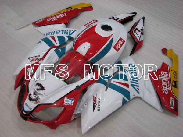 Aprilia RS125 2006-2011 Injection ABS Fairing - Alitalia - Red White - MFS4226