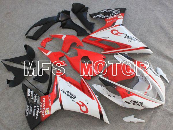 Triumph Daytona 675 2013-2014  Injection ABS Fairing - DUNLOP - Red White - MFS4227