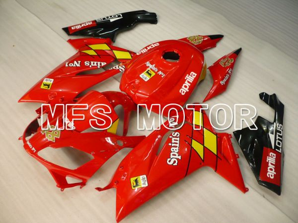 Aprilia RS125 2006-2011 Injection ABS Fairing - Others - Red - MFS4230