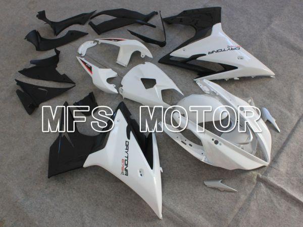 Triumph Daytona 675 2013-2014  Injection ABS Fairing - Factory Style - Black White - MFS4231