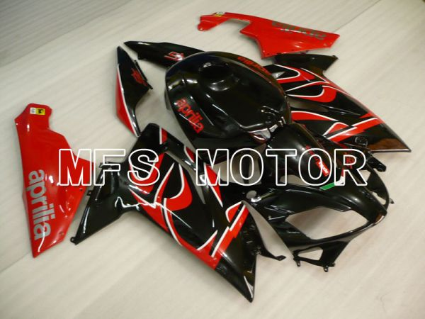 Aprilia RS125 2006-2011 Injection ABS Fairing - Others - Black Red - MFS4232