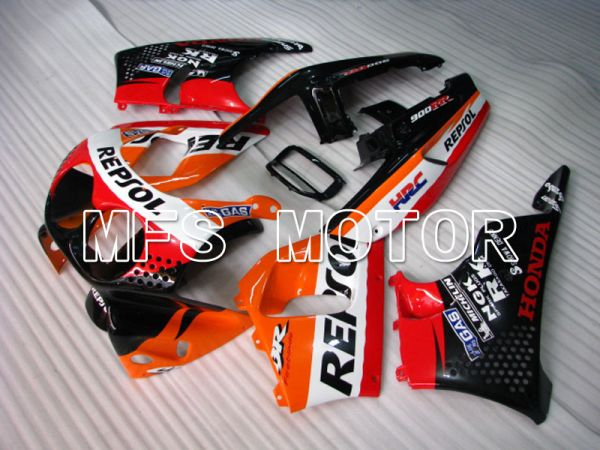 Honda CBR900RR 893 1992-1993 ABS Fairing - Repsol - Black White Orange - MFS4237