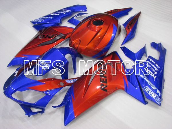 Aprilia RS125 2006-2011 Injection ABS Fairing - Factory Style - Blue Red wine color - MFS4242