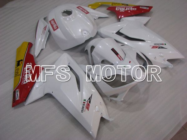 Aprilia RS125 2006-2011 Injection ABS Fairing - Factory Style - Red White - MFS4244