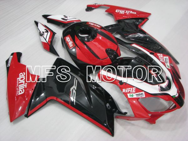 Aprilia RS125 2006-2011 Injection ABS Fairing - Others - Black Red - MFS4248