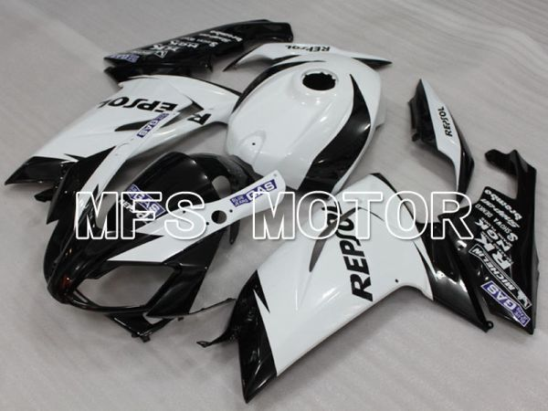 Aprilia RS125 2006-2011 Injection ABS Fairing - Repsol - Black White - MFS4252