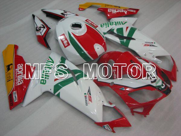 Aprilia RS125 2006-2011 Injection ABS Fairing - Alitalia - Red White - MFS4258
