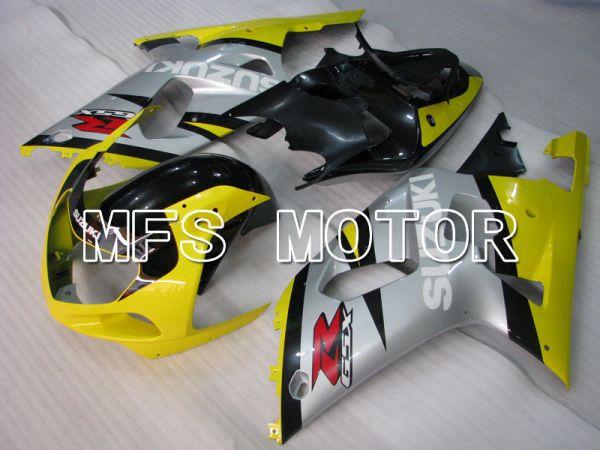 Suzuki GSXR1000 2000-2002 Injection ABS Fairing - Factory Style - Yellow Silver - MFS4259