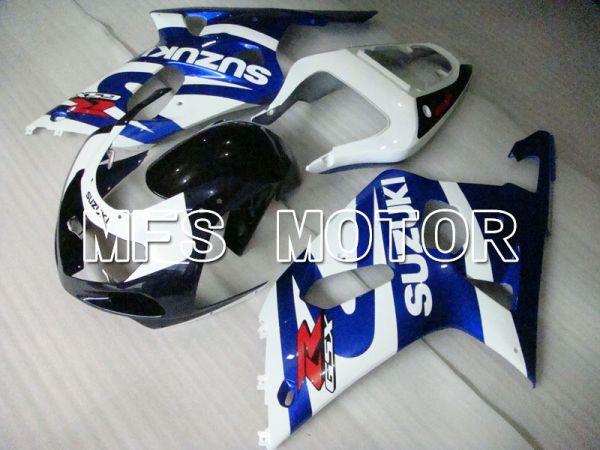 Suzuki GSXR1000 2000-2002 Injection ABS Fairing - Factory Style - Blue White - MFS4267