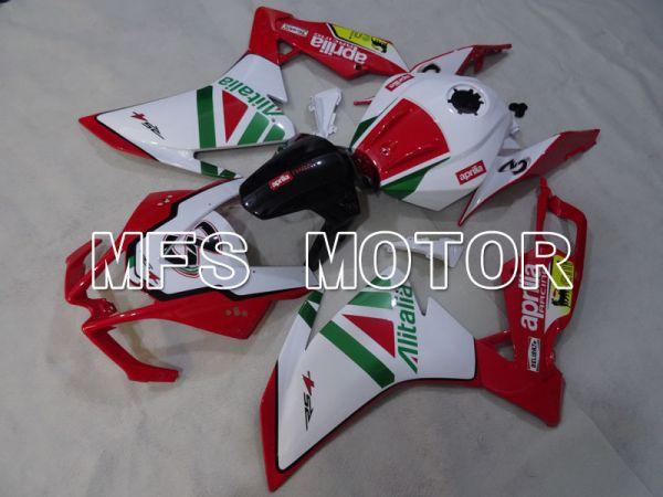 Aprilia RS125 2012-2014 Injection ABS Fairing - Alitalia - Red White - MFS4270