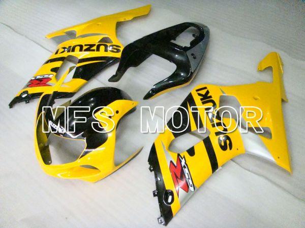 Suzuki GSXR1000 2000-2002 Injection ABS Fairing - Factory Style - Yellow Black - MFS4283
