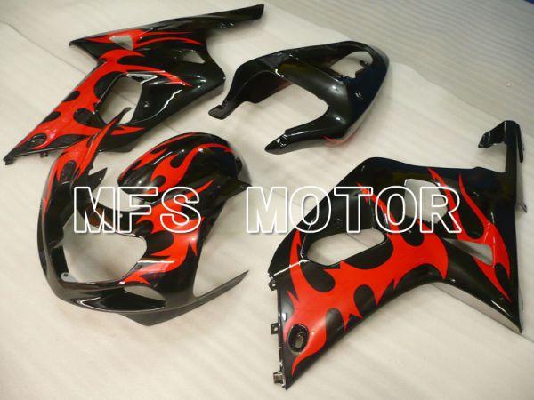 Suzuki GSXR1000 2000-2002 Injection ABS Fairing - Others - Black Red - MFS4294