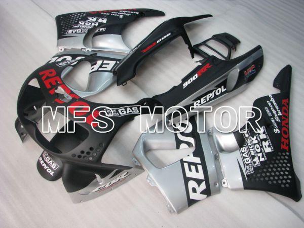 Honda CBR900RR 893 1994-1995 ABS Fairing - Repsol - Black Silver Matte - MFS4296