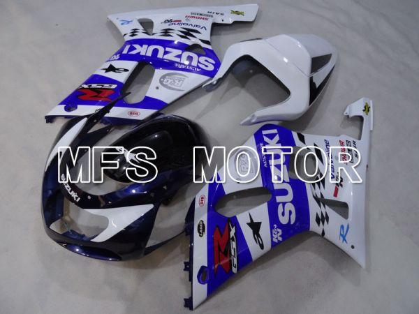Suzuki GSXR1000 2000-2002 Injection ABS Fairing - Others - Blue White - MFS4308