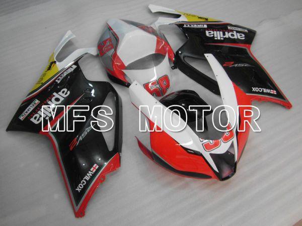 Aprilia RSV 1000 R 2004-2009 ABS Fairing - Others - Black Red White - MFS4316