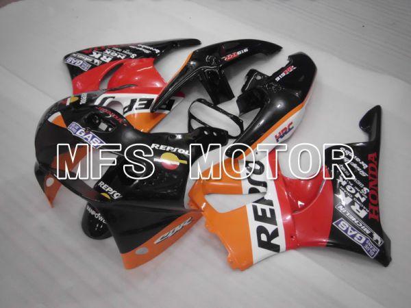 Honda CBR900RR 919 1998-1999 ABS Fairing - Repsol - Black Red Orange - MFS4342