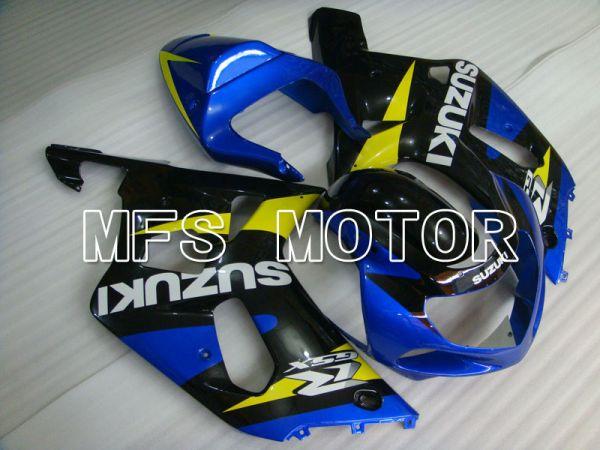 Suzuki GSXR1000 2000-2002 Injection ABS Fairing - Factory Style - Blue Black - MFS4347